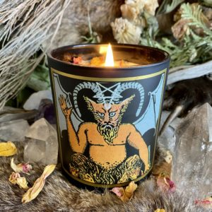 The Devil Tarot Candle